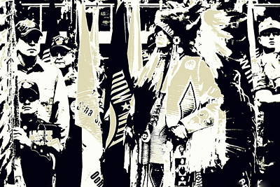Photograph - Powwow 12 by Clarice  Lakota