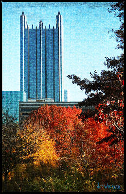 Art Print featuring the photograph Ppg In Autumn by Joe Winkler