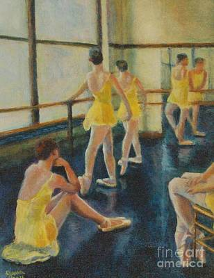 Practice Art Print by Jana Baker