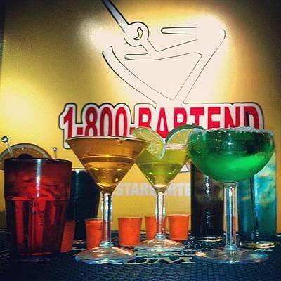 Martini Wall Art - Photograph - Practice Round. #margarita #martini by Rebecca Kraut