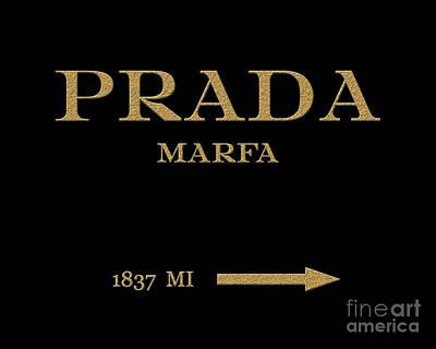 Prada Marfa Mileage Distance Original by Edit Voros