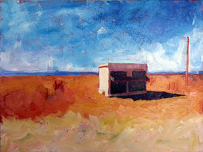 Painting - Prada Marfa by Paulette B Wright