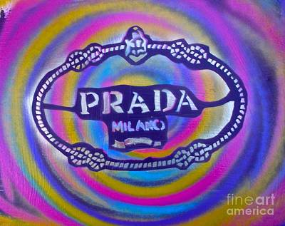 Shop Hip Hop Painting - Prada Pop Art by Tony B Conscious