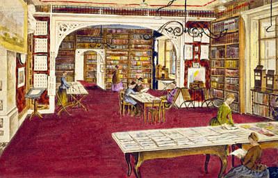 Prague Drawing - Prague American Club by Granger