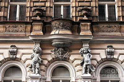 Photograph - Prague Architecture by John Rizzuto