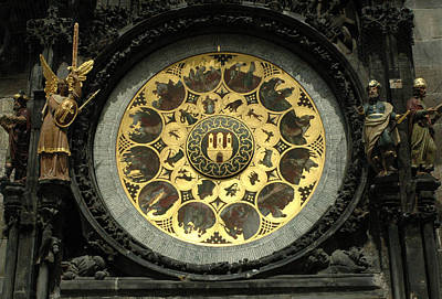 Photograph - Prague Astronomical Clock by Michael Kirk