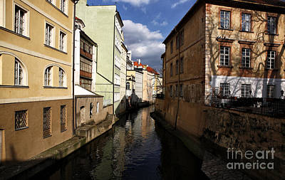 Photograph - Prague Canal by John Rizzuto