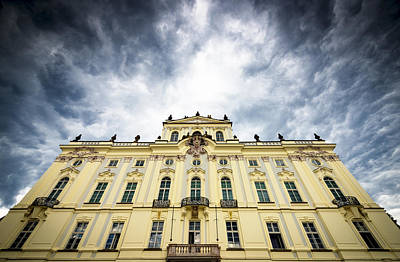 Photograph - Prague Castle - Archbishops Palace by Matthias Hauser