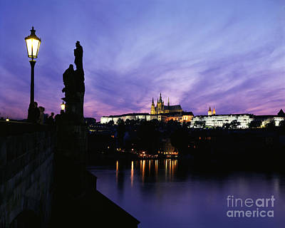 Prague Castle Art Print by Rafael Macia