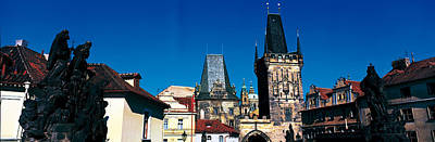 Prague Castle St Vitus Cathedral Prague Art Print by Panoramic Images