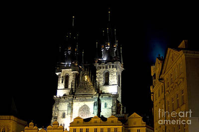 Photograph - Prague Church by Haleh Mahbod