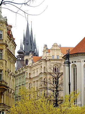 Photograph - Prague City by Suzanne Oesterling