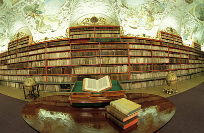 Prague Photograph - Prague Czech Republic Bibliotheque by Panoramic Images