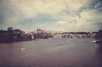 Kafka Photograph - Prague Days II by Taylan Apukovska