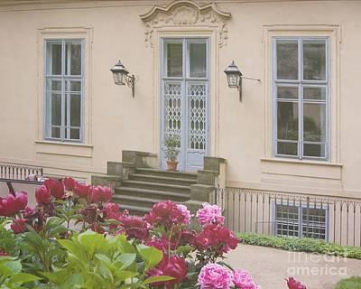 Prague Gardens Art Print