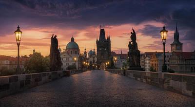 Castle Wall Art - Photograph - Prague-ii by Juan Manuel Fernandez