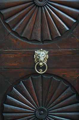Photograph - Prague Knocker by Michael Kirk