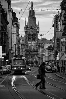 Czech Mixed Media - Prague Routine by Mustafa Otyakmaz