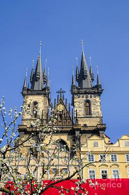 Photograph - Prague Spring by Brenda Kean