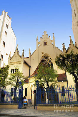 Photograph - Prague Synagogue by Brenda Kean