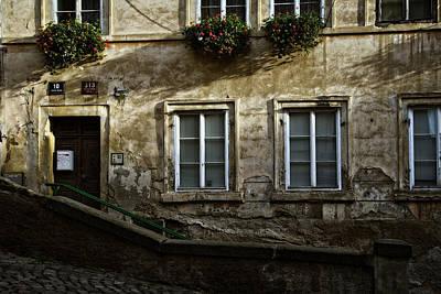 Prague Photograph - Prague Textures by Joan Carroll