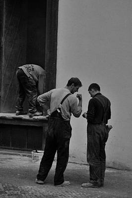 Photograph - Prague Workers by Steven Richman
