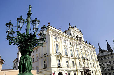 Photograph - Prague's Palaces And Castle by Brenda Kean