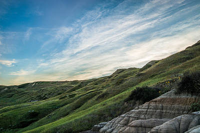 Photograph - Prairie Badlands by Dwayne Schnell
