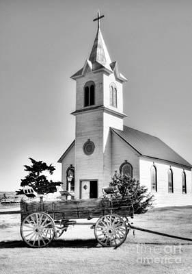 Photograph - Prairie Chapel 2 by Mel Steinhauer