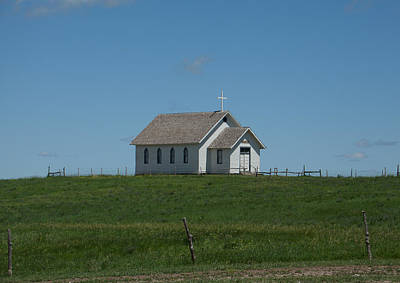 Photograph - Prairie Church by Scott Sanders