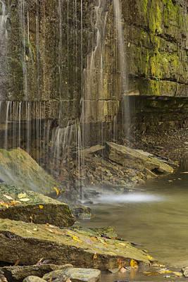 Personalized Name License Plates - Prairie Creek Falls 8 by John Brueske