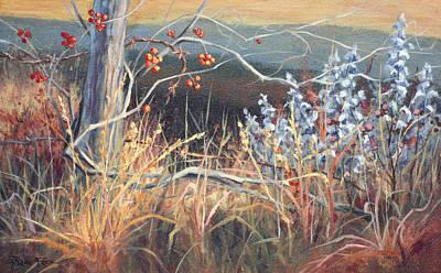 Wall Art - Painting - Prairie Divine by Lanie Frick