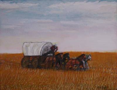 Painting - Prairie Express by Larry E Lamb