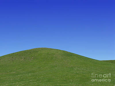 Hill Photograph - Prairie Hill by Olivier Le Queinec