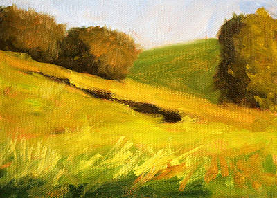 Painting - Prairie Hills by Nancy Merkle