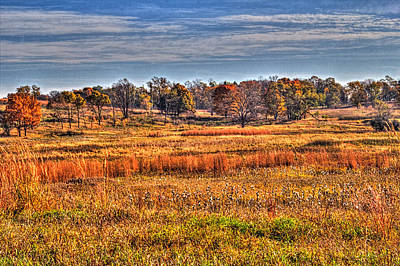 Photograph - Prairie Late Fall I by Roger Passman