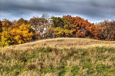 Photograph - Prairie Late Fall IIi by Roger Passman