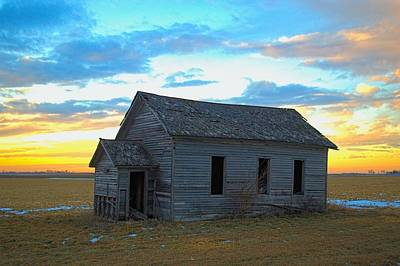 Photograph - Prairie School by Bonfire Photography
