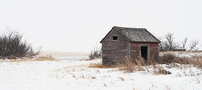 Prairie Silence... Art Print by Nina Stavlund