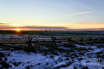 Photograph - Prairie Sunrise by Jon Burch Photography