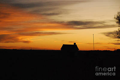 Photograph - Prairie Sunset by Mary Carol Story