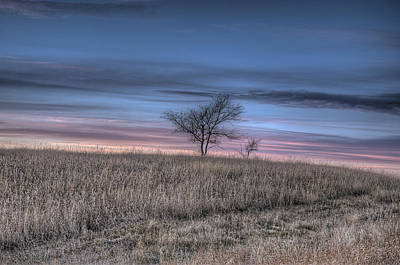 Prairie Sunset Photograph - Prairie Sunset North Dakota 1 by Tom Phelan