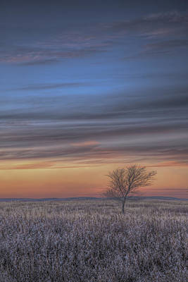 Prairie Sunset Wall Art - Photograph - Prairie Sunset North Dakota 2 by Tom Phelan