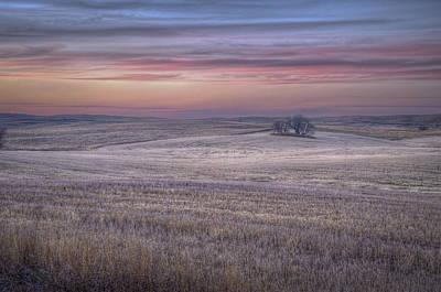Prairie Sunset Photograph - Prairie Sunset North Dakota 3 by Tom Phelan