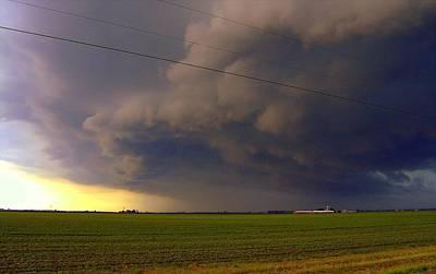 Photograph - Prairie Thunder by Claude Oesterreicher