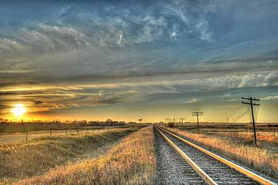 Photograph - Prairie Tracks by Vaughn Bender