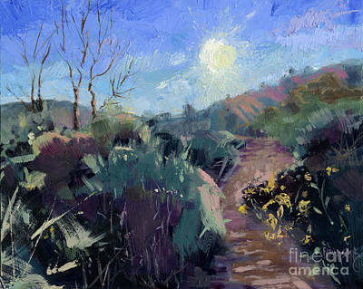 Painting - Sold Praise For The Morning  by Nancy  Parsons
