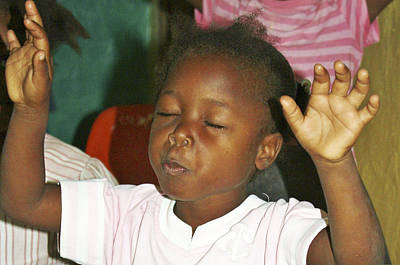 Photograph - Praise by Haiti Missions