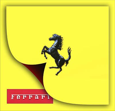All You Need Is Love - Prancing Horse Ferrari by Maj Seda