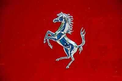 Photograph - Prancing Horse - Ferrari Symbol by Dany Lison